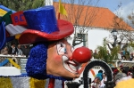 The figurehead on the circus float